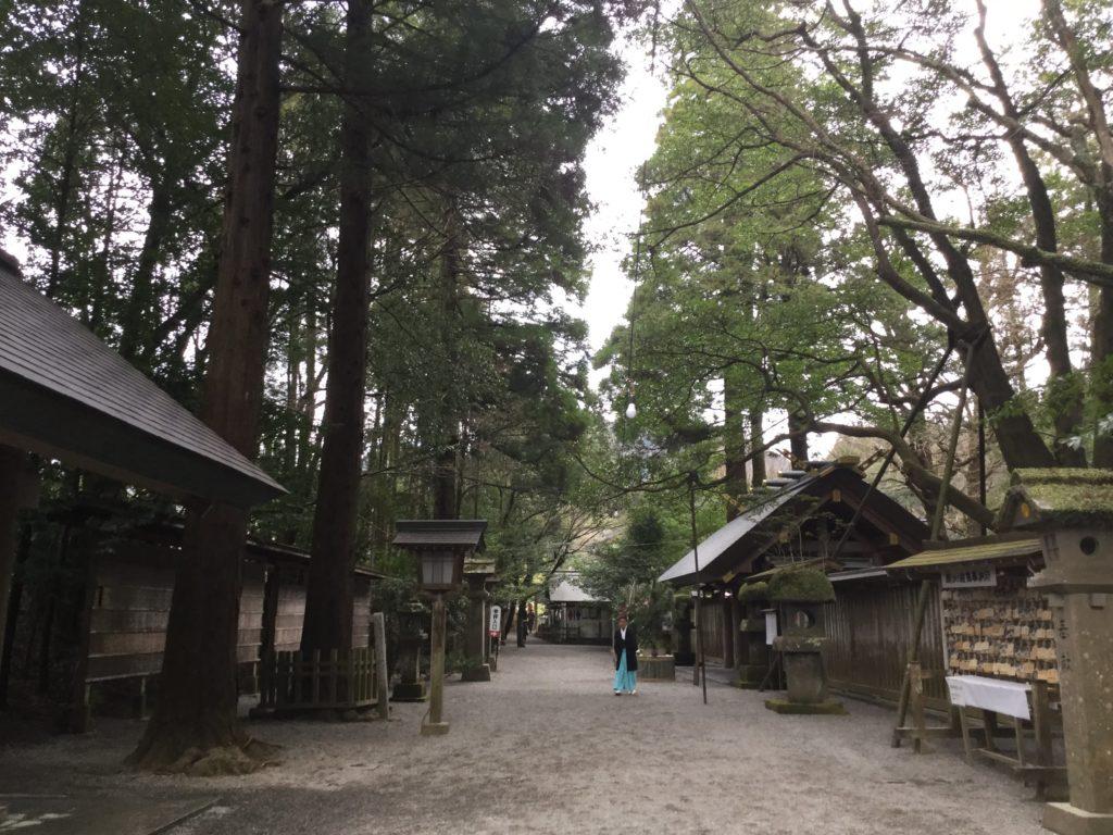 天岩戸神社入り口