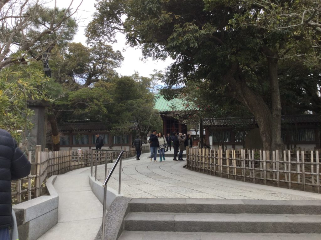 鎌倉 大仏 入り口