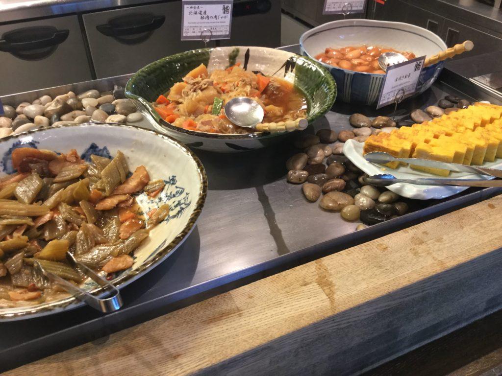 ラビスタ函館ベイの朝食卵焼き