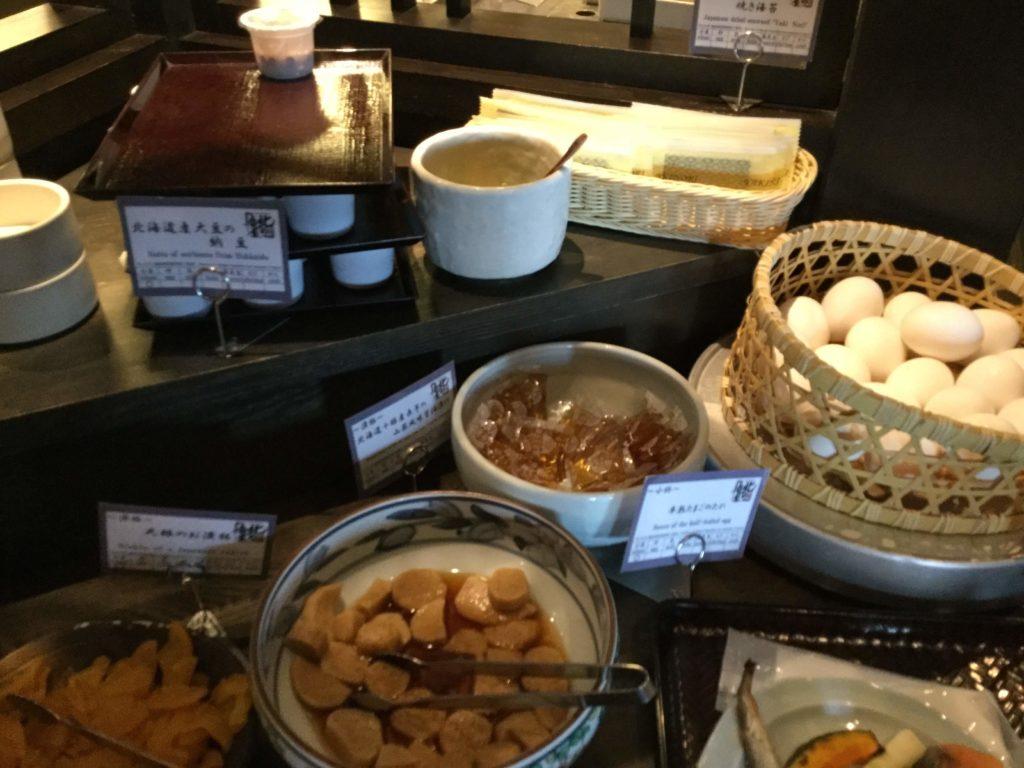 ラビスタ函館ベイの朝食納豆