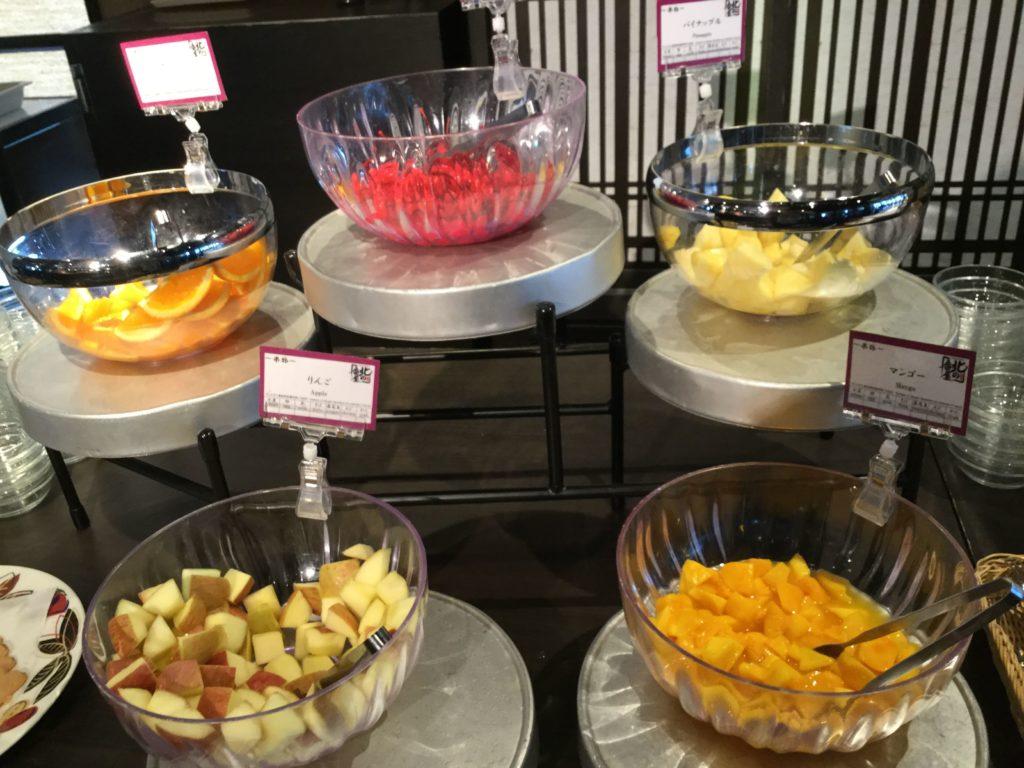 ラビスタ函館ベイの朝食デザート